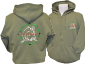 TARGETING BIG FISH ZIPPED HOODIE USUALLY £26.99