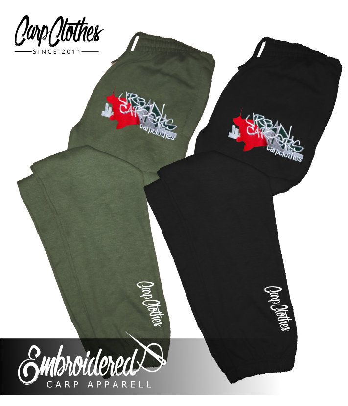 007 EMBROIDERED CARP JOGGERS
