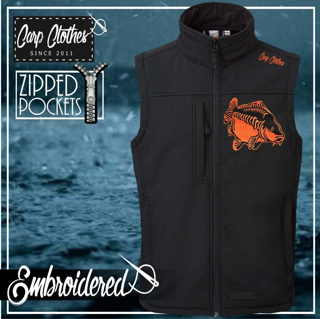 009 EMBROIDERED SOFTSHELL BODYWARMER
