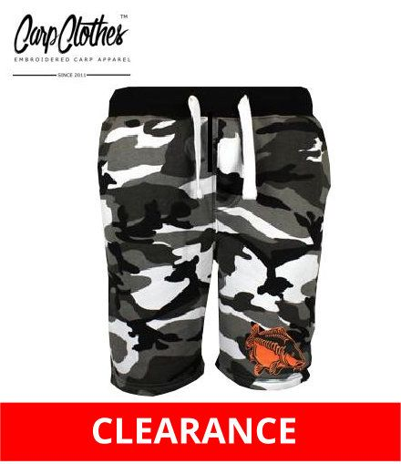 009  EMBROIDERED URBAN CAMO SHORTS