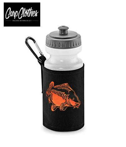 009 PRINTED CARP WATER BOTTLE & HOLDER