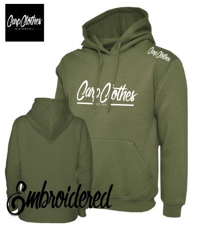 010 EMBROIDERED CARP HOODIE