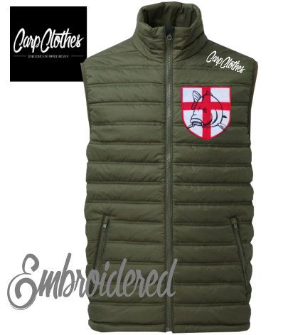 021 EMBROIDERED QUILTED BODYWARMER **save £10**