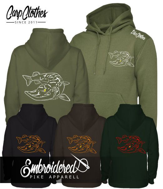 025 EMBROIDERED PIKE HOODIE