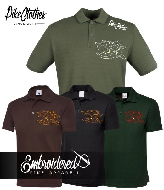 025 EMBROIDERED PIKE  POLO