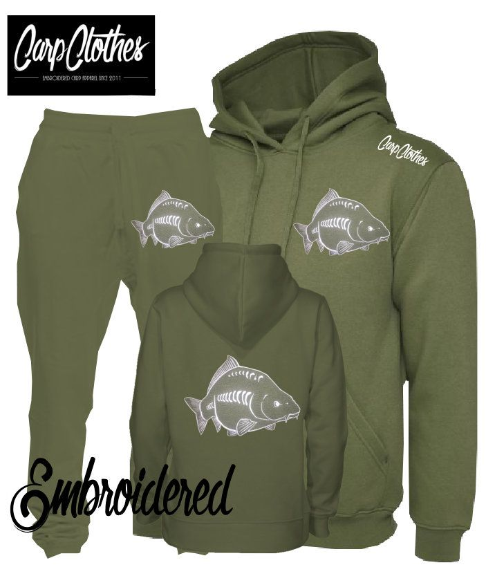 026 EMBROIDERED CARP PACKAGE DEAL MILITARY GREEN