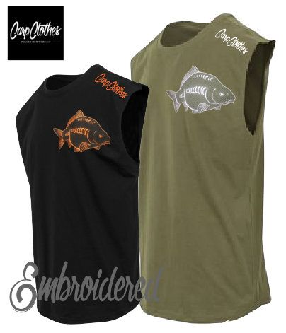 026 EMBROIDERED SLEEVELESS T-SHIRT