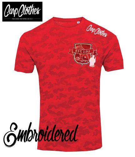 029 EMBROIDERED CAMO T-SHIRT