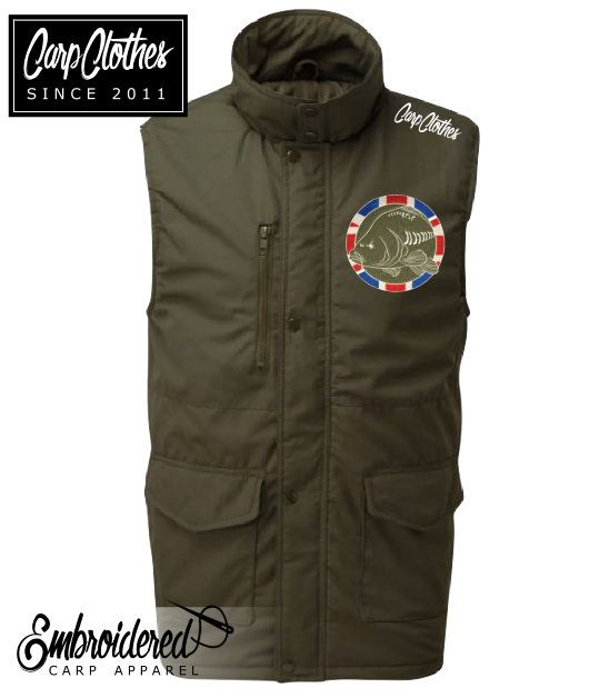 030 EMBROIDERED MULTIPOCKET BODYWARMER