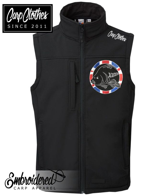 030 EMBROIDERED SOFTSHELL BODY WARMER