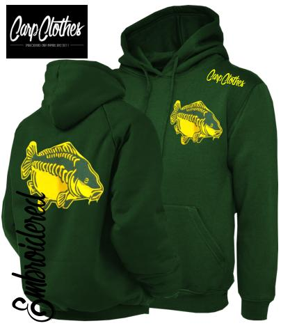 CHILD 009 EMBROIDERED CARP FISHING HOODIE BOTTLE
